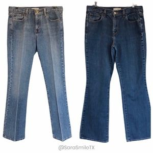{BUNDLE of 2} LEVI'S Jeans Sz 10S & 10M